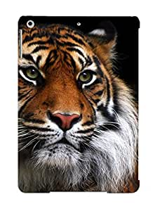 685248a5722 Tpu Phone Case With Fashionable Look For Ipad Air - Tiger Wild Cat Muzzle Case For Christmas Day's Gift