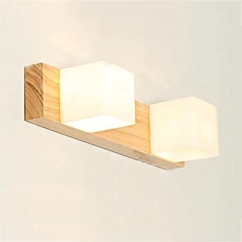 Badezimmerleuchten Licht Holz Spiegel Scheinwerfer Einfache Moderne