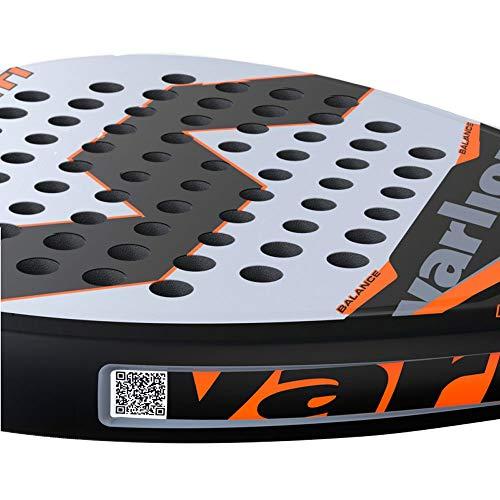 VARLION Pala de pádel Avant Carbon Ti Naranja