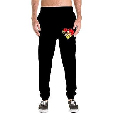 O-My Pantalones de chándal Casuales para Hombre con Estampado de ...