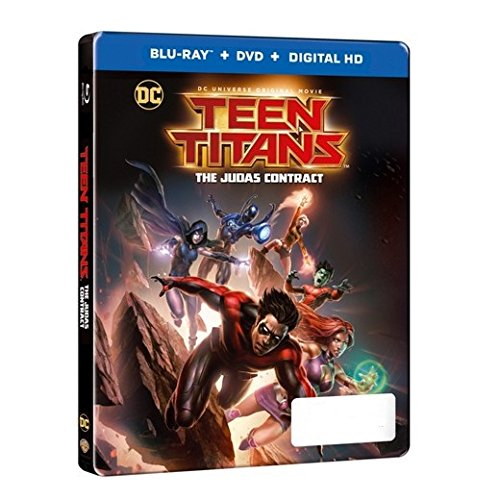 DC Universe Teen Titans: The Judas Contract Limited Edition Steelbook (Blu-ray+DVD+Digital HD)