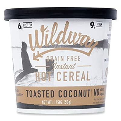 Wildway Grain-free Instant Hot Cereal Single Serve Cups