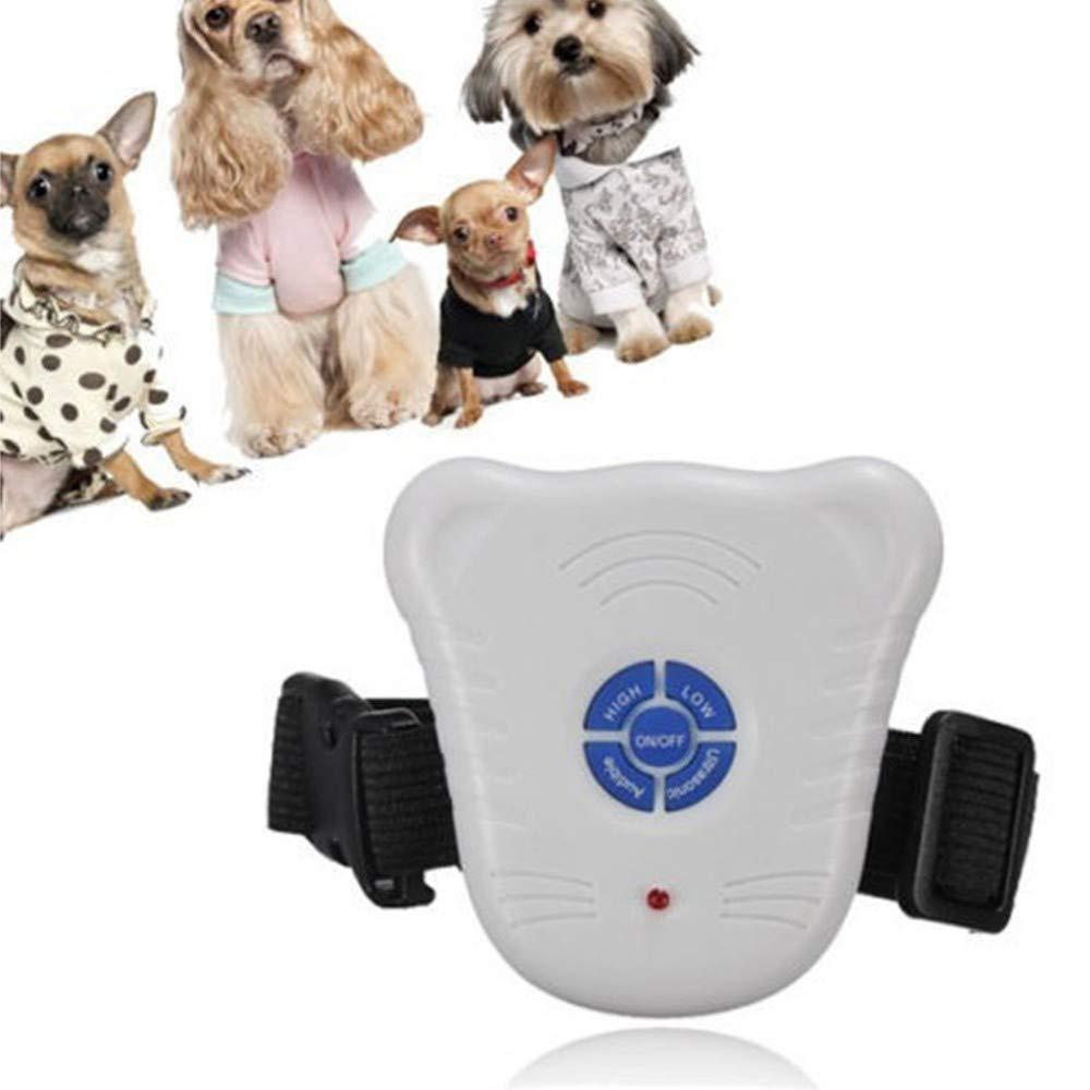 Tradeshoptraesio® - Bark Stop - Collar educativo de entrenamiento ...