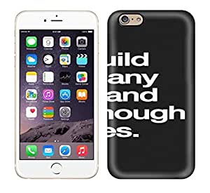 iphone 5s We Build Too Manywalls And Not Enough Bridges. Print High Quality Tpu Gel Frame Case Cover