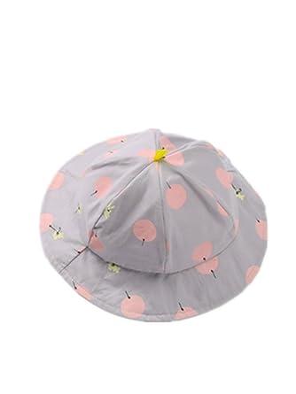 5e5645e27f0 AFFE Baby Girl Toddler Infant Summer Dot Sun Cap Polka Outdoor Hats Beach  Bucket Sun Hat