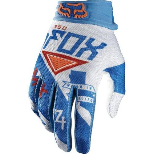 2014 Fox 360 Intake Motocross Gloves - Blue/White - 2X-Large (12)