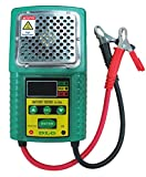 DLG DI-226A LCD Indication Versatile Lead-Acid Battery Tester with CCA/Work Load/Internal Resistance Test Electric Vehicle Battery/UPS Battery/Solar Energy Battery/Marine Battery/Car Battery