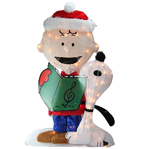 Peanuts Snoopy Outdoor Lighted Christmas Decoration in Florida - 8