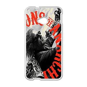 Sons of Anarchy for HTC One M7 Cell Phone Case & Custom Phone Case Cover R54A652083