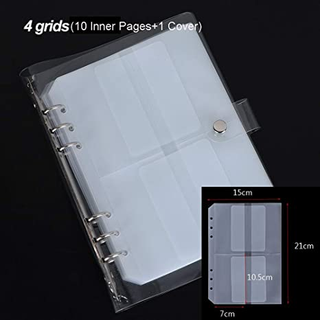 inner page container storage scrapbooking cutting dies holder stencil book
