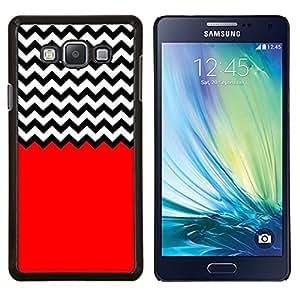 Dragon Case - FOR Samsung Galaxy A7 - The red hand - Caja protectora de pl??stico duro de la cubierta Dise?¡Ào Slim Fit
