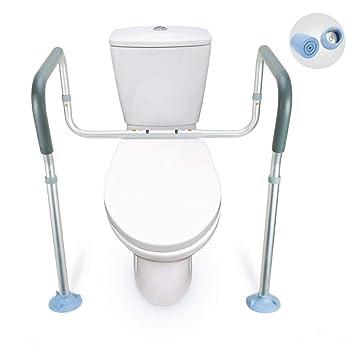 71f7a09a625 Amazon.com  OasisSpace Toilet Rail - Medical Bathroom Safety Frame ...