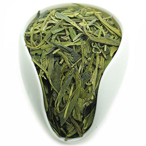 100% Natural Fresh Green Tea Leaves From China (100Cups)-Weight Loss Tea-Detox Tea, Slimming Tea-ANTI-OXIDANTS - Long Jing(Dragon Well)-Green Tea Loose Leaf - Brew Hot or Iced Tea -200g/7oz