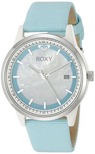 - Roxy Women's RX/1011MPLB THE ABBEY Stainless Steel Watch with Blue Band