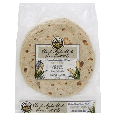 La Tortilla Factory Tortilla Corn Wht Grnde