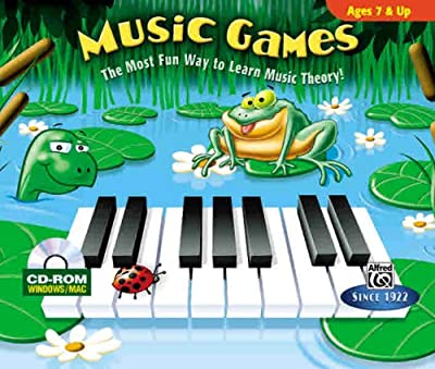 Music Games Ages 7 & Up: The Most Fun Way to Learn Music Theory!