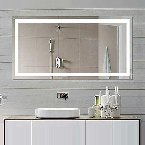 IB MIRROR Lighted Bathroom Mirror Harmony 55 In X 36 In 6000 K