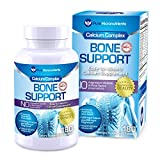 Pure Micronutrients Calcium Supplement (Citrate & Hydroxyapatite 1000mg) for complete Bone Health +