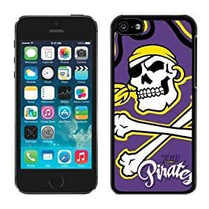 Andre-case Apple iPhone 5C Cover case cover NCAA-CONFERENCE USA East Carolina Pirates 7 Plastic iPhone 5c 5th Generation uH09R9QD220 case cover