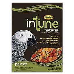 Higgins Pet Food Intune Natural Diet For Parrots 3 Lb
