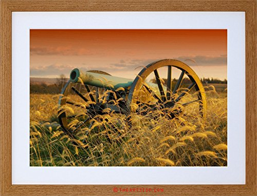 Civil War Cannon Pictures - WAR PHOTO MILITARY ANTIETAM CANNON BATTLE AMERICAN CIVIL FRAMED PRINT F12X4061