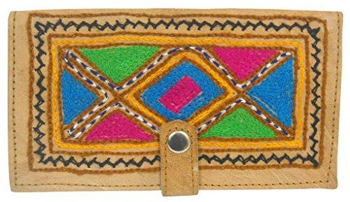 Crafts of India - Bolso al hombro para mujer Varios Colores multicolor