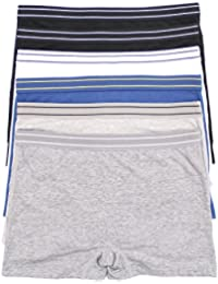 Youmita 6 Pack Cotton Sport Shorts with Extended Sizes
