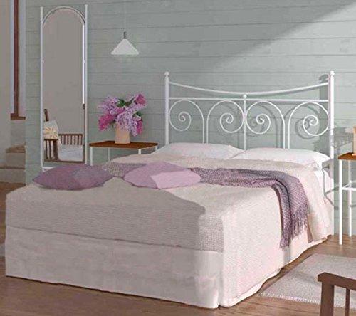 HOGARES CON ESTILO - Cabecero de Forja nacional modelo PALMA para una cama de 90 cms. (Varios colores y medidas disponibles).: Amazon.es: Hogar