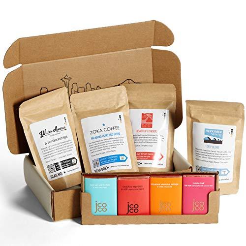 Bean Box - Coffee + Chocolate Gift Box - Whole Bean