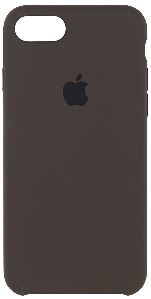 Apple Silicone Case for iPhone 7 - Cocoa