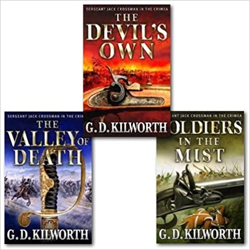 Book Sergeant Jack Crossman Series Collection Set, (the Valley of Death, the Devil's Own and Soldier's in the Mist)