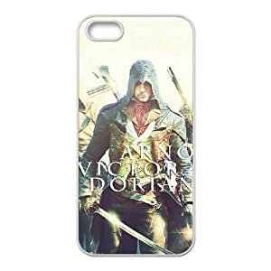 Assassin'S Creed Unity iPhone 4 4s Cell Phone Case White Phone Accessories VRK81336