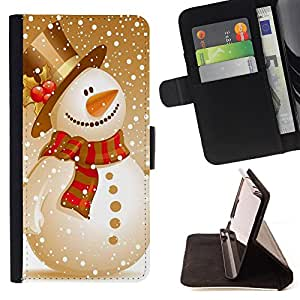 - Merry Christmas Tree Green Red Deer Snow Winer - - Style PU Leather Case Wallet Flip Stand Flap Closure Cover FOR LG G3 - Devil Case -