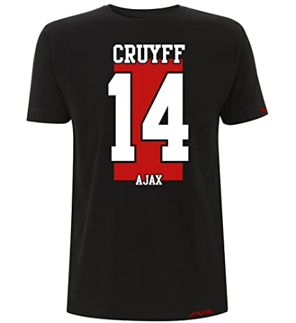 Münk - Johan Cruyff AJAX - Camisetas de diseño Retro fútbol Vintage - Muñeco Recortable Gratis: Amazon.es: Ropa y accesorios
