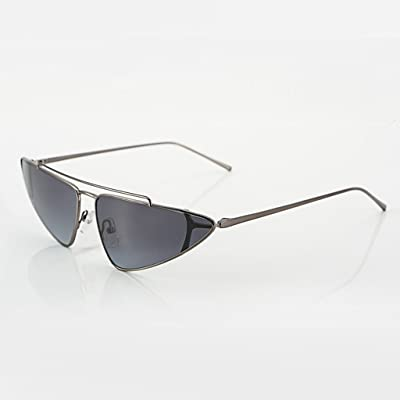 QQB des lunettes Mode lunettes de soleil rétro petit cadre rue tir lunettes de soleil conduite conduite lunettes de soleil -X102 (Couleur : B)