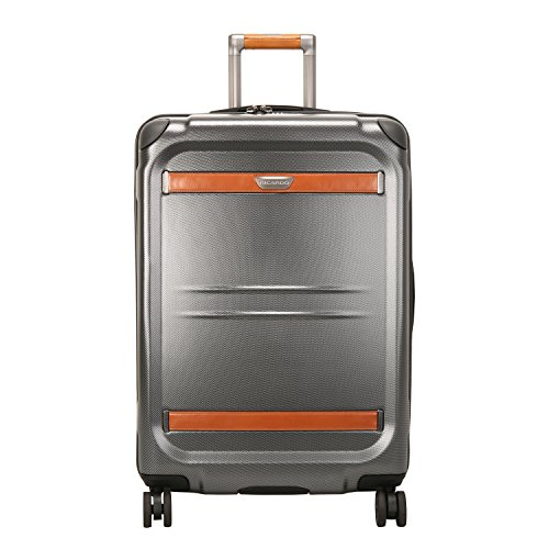Ricardo Beverly Hills Ocean Drive 25-Inch Spinner Upright Suitcases, Silver (Beverly Drive In)