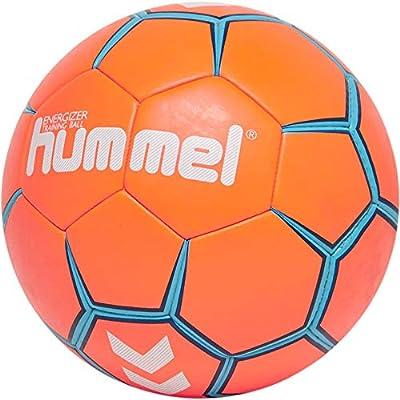 hummel hmlENERGIZER HB Ball, Unisex Adulto, Anaranjado/Azul, 3 ...