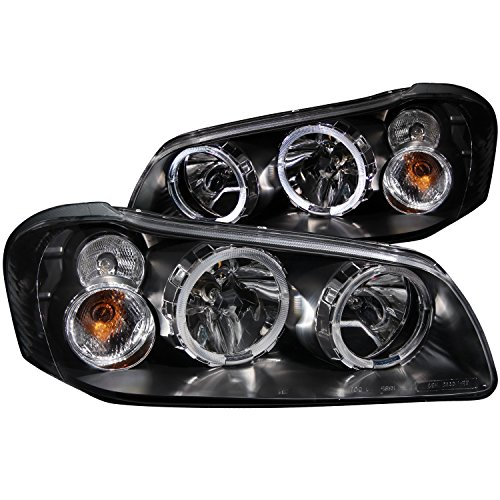 Anzo USA 121113 Nissan Maxima With Halo Black Headlight Assembly - (Sold in (Nissan Maxima Projector Headlights)