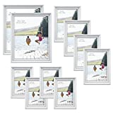 Best MCS Collage Photo Frames - MCS Industries Solid Wood Frame Set, White Review