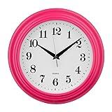 Cheap Premier Housewares Vintage Wall Clock – Hot Pink