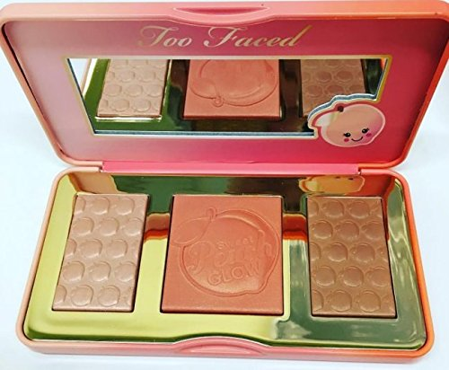Too Faced Sweet Peach Glow Peach Infused Highlighting Palette New Smells Like Peaches