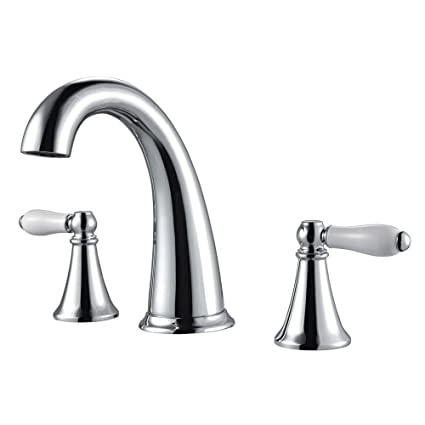 8 bathroom faucet kingston brass pfister lf049kycc kaylon 2handle inch widespread bathroom faucet in polished chrome water