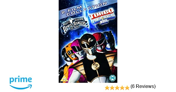 Power Rangers - The Movie/Turbo - A Power Rangers Movie Edizione: Regno Unito Reino Unido DVD: Amazon.es: Movie, Film: Cine y Series TV