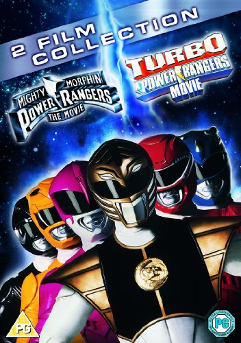 Mighty Morphin Power Rangers: The Movie / Turbo: A Power Rangers Movie Double Pack [DVD] [1995] (Mighty Morphin Power Ranger Movie)