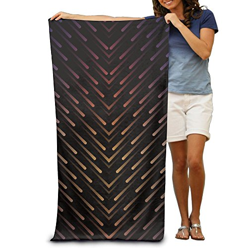 Solar System Meteor Shower Adult Soft Microfiber Printed Beach Towel For Surf Highly Absorbent