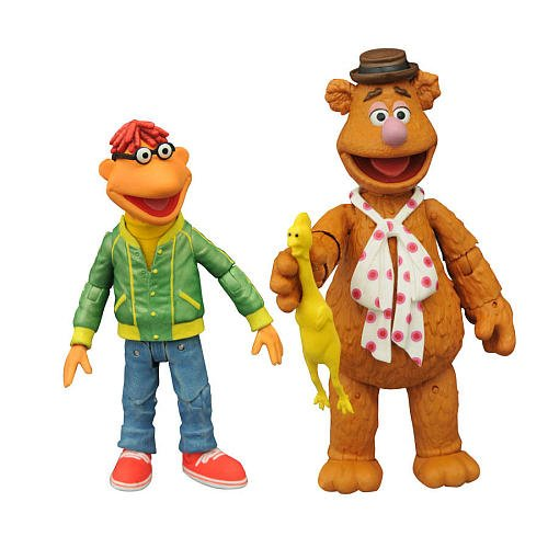 Disney The Muppets Series 1 7 inch Collectible Action Figure - Fozzie and Scooter