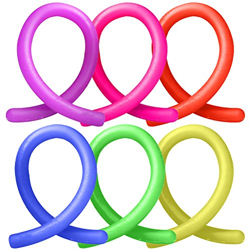 ADHD Fidget Toys, Autism Anxiety Stress Relief Sensory Fiddle Toys Hand Finger Small Stretchy String Eholder Set of 6 for Relaxing Calming Boys or Girls Kids,Adult Men or Women with Focusing,OCD,ADD Photo #4