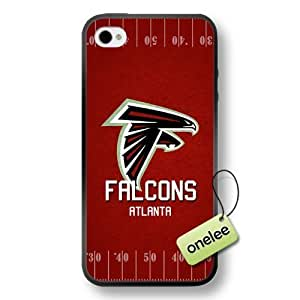 NFL Team Logo For SamSung Galaxy S4 Case Cover Black Soft Hard (PC) Case CovBlack
