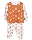 Texas UT Longhorn Little Boys Long Sleeve 2pc Pajama Set, Size 4T
