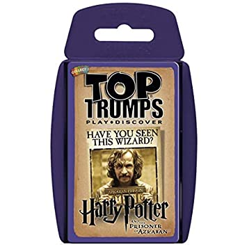 Top Trumps Harry Potter y El Prisionero de Azkaban. Juego de Cartas - Versión en español
